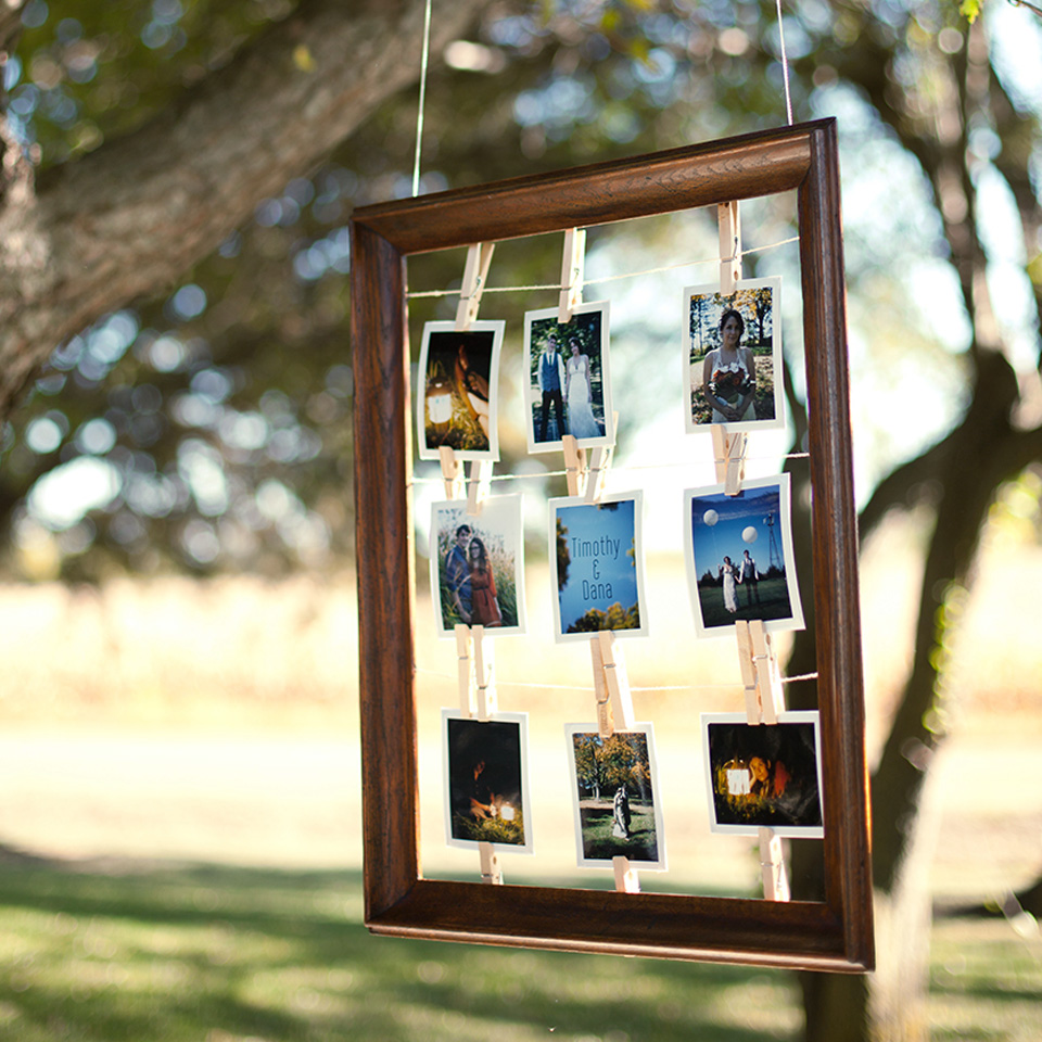 polaroid-photo-frame - The Wedding Format