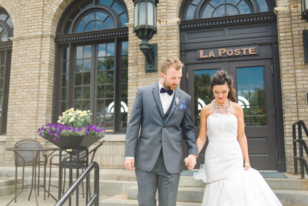 La Poste Perry Iowa Wedding Venue