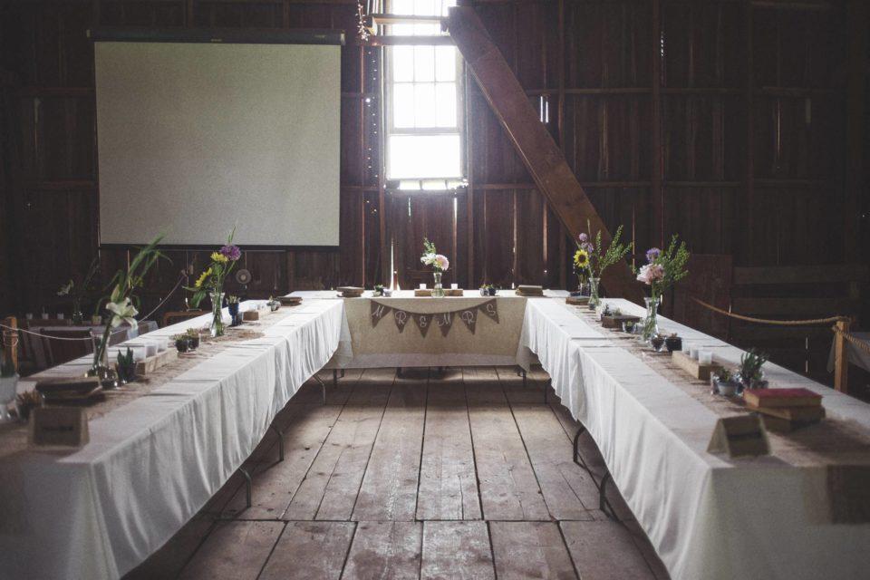 Secrest 1883 Octagonal Barn Iowa Wedding Venue