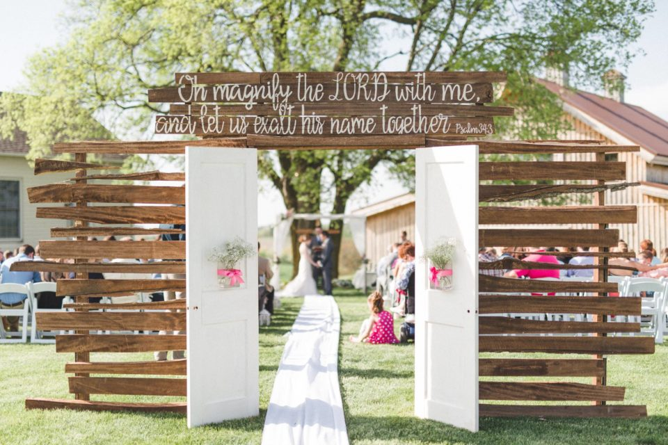 Sugar Grove Vineyards - Newton, Iowa - The Wedding Format